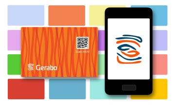Gerabo mit Karte oder App