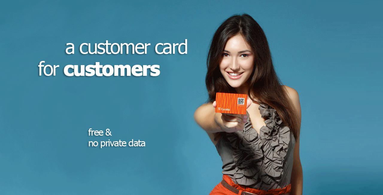 De klantenkaart voor klanten